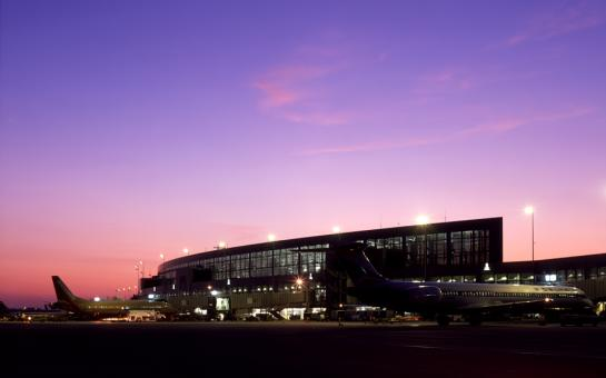 ABIA at night
