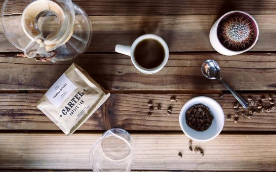 Cartel Coffee Overhead Shot