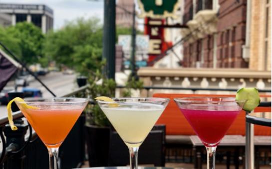 Cocktails at Stephen F's Bar