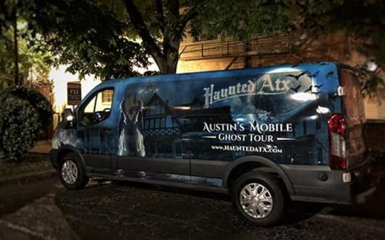 Haunted ATX Van
