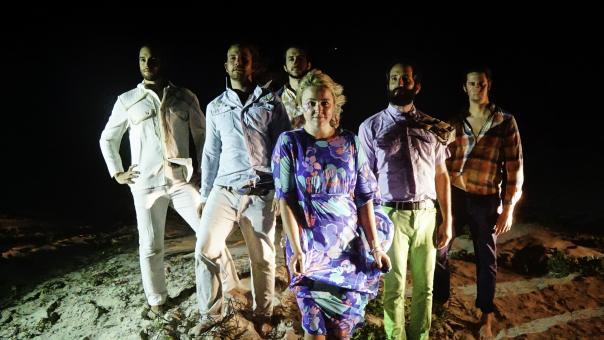 Calliope Musicals promo photo on beach