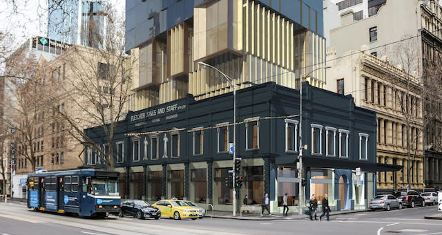 Artist's impression of the new Vibe Hotel Queen St Melbourne