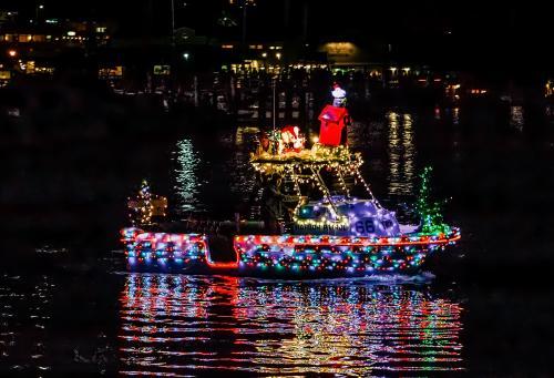 Harbor Dept Lighted Boat Parade