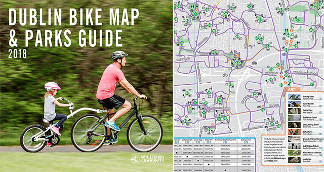 Dublin Bike Map Cover