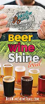 Beer, Wine & Shine Brochure Cover