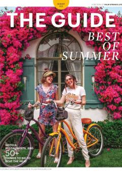 Palm Springs Life August Guide Cover