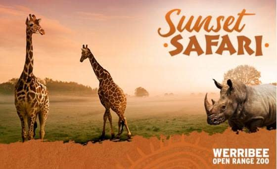 Sunset Safari Trial_Werribee Open Range Zoo