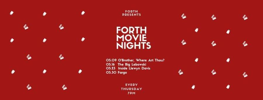 Forth May movie nights
