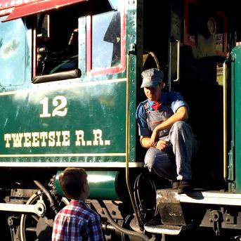 Conductor on Locomotive #12