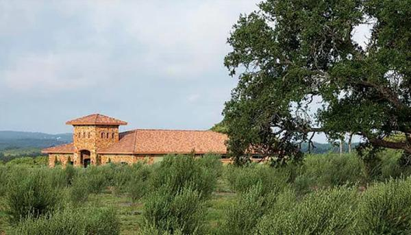land and building at Texas Hill Country Olive Company.