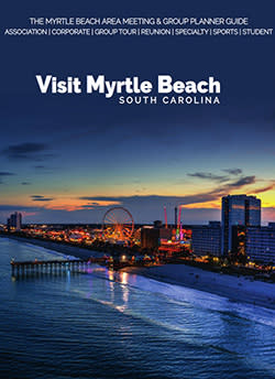 Cover of the 2020 Myrtle Beach Are Meetings & Group Planner Guide