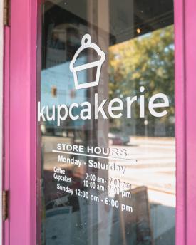 Kupcakerie's front door