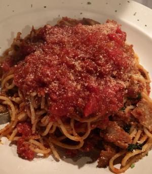 Spaghetti at New York Pizza & Pasta