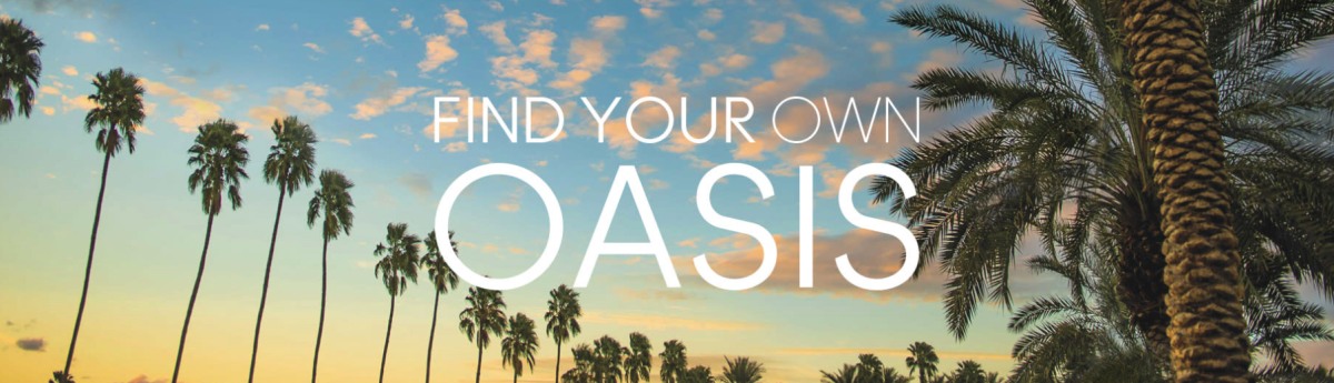 Find Your Oasis Banner