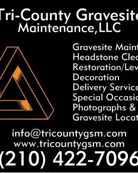 Tri-County Gravesite Maintenance, LLC Logo