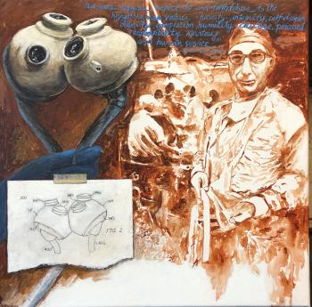 Dr. Michael Debakey by Lisa Reinaur