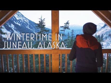Winter in Juneau, Alaska