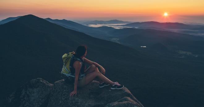 Sharp Top Hiking