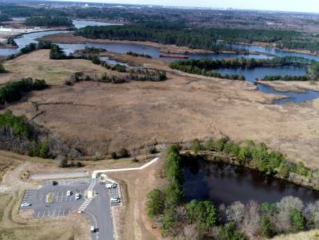 Bells Mill Park - Aerial View