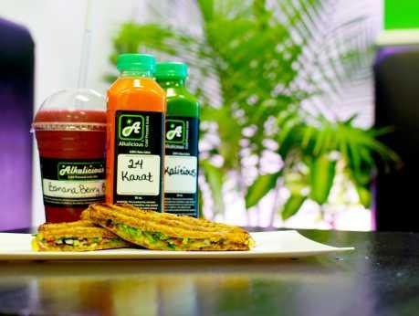 Alkalicious Juice Smoothies Vegan Food