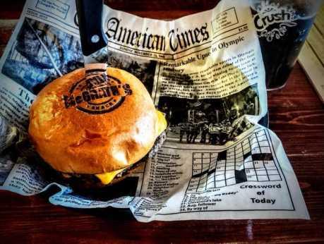 McGrath's Burger Bar - Burger 1