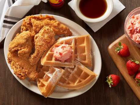 Metro Diner - Chicken & Waffles