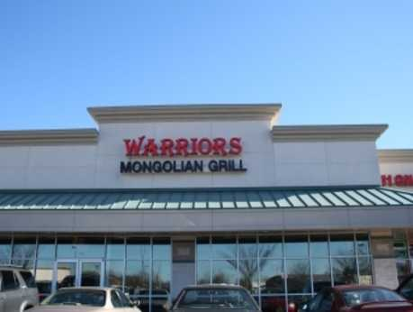 Warriors Grill Exterior