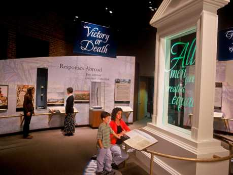 Yorktown Victory Center - Declaration of Independence Gallery