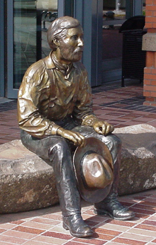 Eugene Skinner Statue by Debbie Williamson Smith