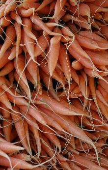 Saturday Market Carrots