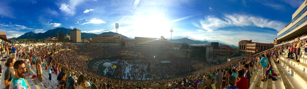 Dead & Company Concert at Folsom Field