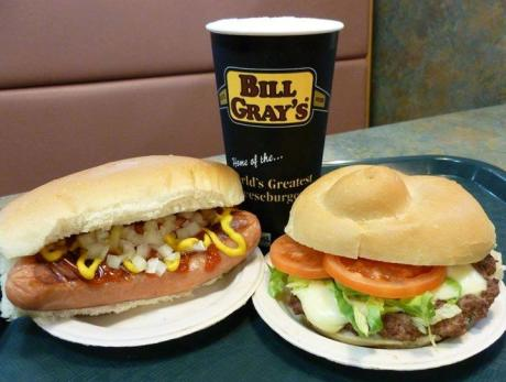 Bill Gray's Burgers and Hot dogs