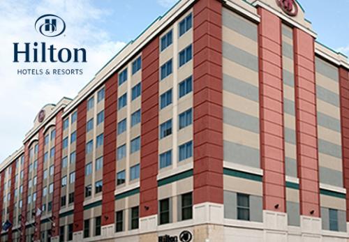 Hilton Hotel & Resort in Scranton, PA, in Lackawanna County