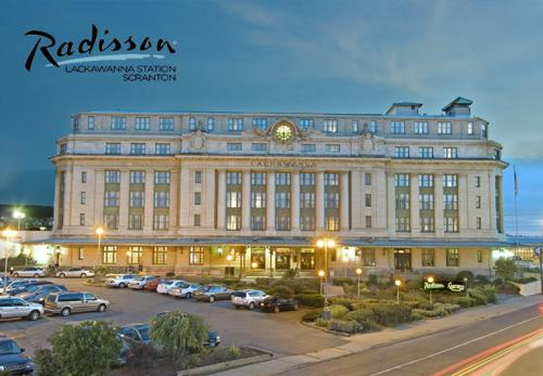 Radisson Hotels & Resorts in Scranton, PA, in Lackawanna County.