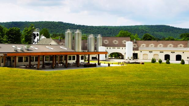 Exterior of Brewery Ommegang