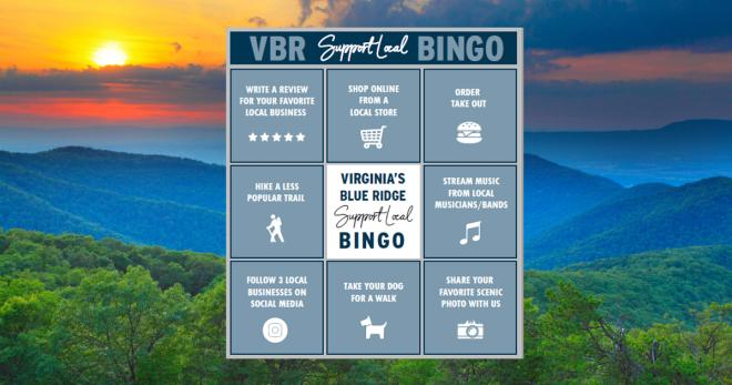 VBR Support Local Bingo