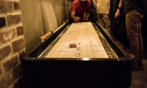 BarrelHouse Brewing SLO - Shuffleboard