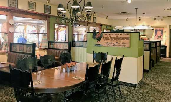 Apple Farm Restaurant Main Dining Room