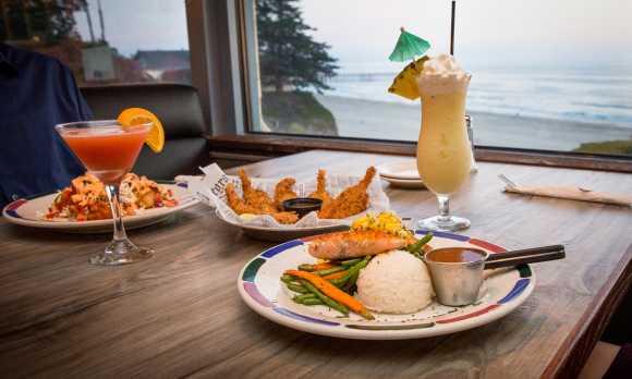 Ocean view dining!