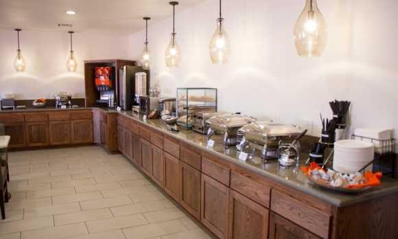 Complimentary breakfast buffet.jpg