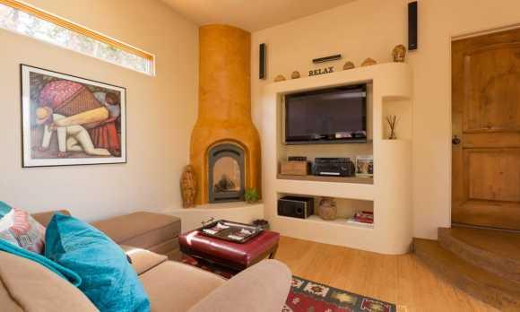 Casa de los Sueños casita living room