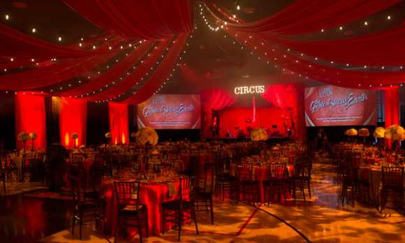 Circus Themed Dinner Gala
