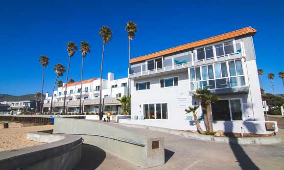 Located On the Pismo Beachfront