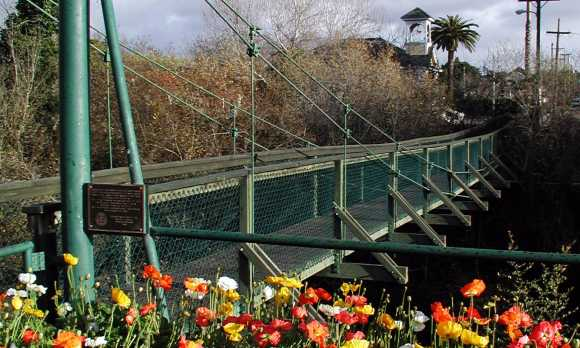 Historic Swinging Bridge
