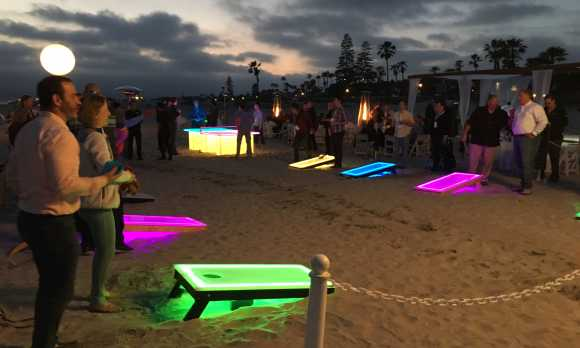 Corporate Beach Party