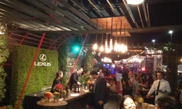 Lexus Booth at LA Food & Wine