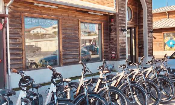 Store Front Electric Bike Rentals