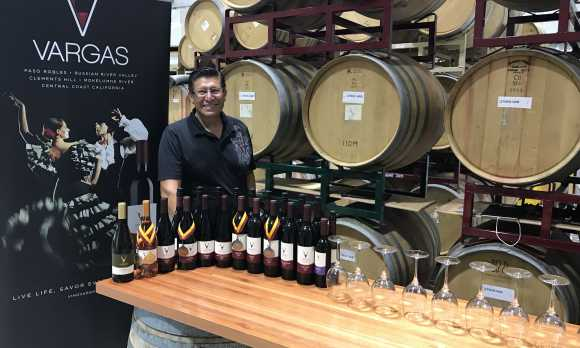 Winemaker with award winning wines