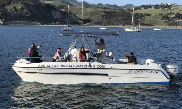 our 26 ft power catamaran