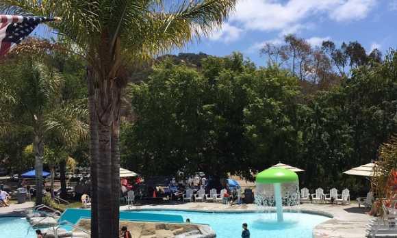 waterpark pool view